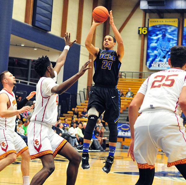 Michael Bryson - UCSB men's basketball