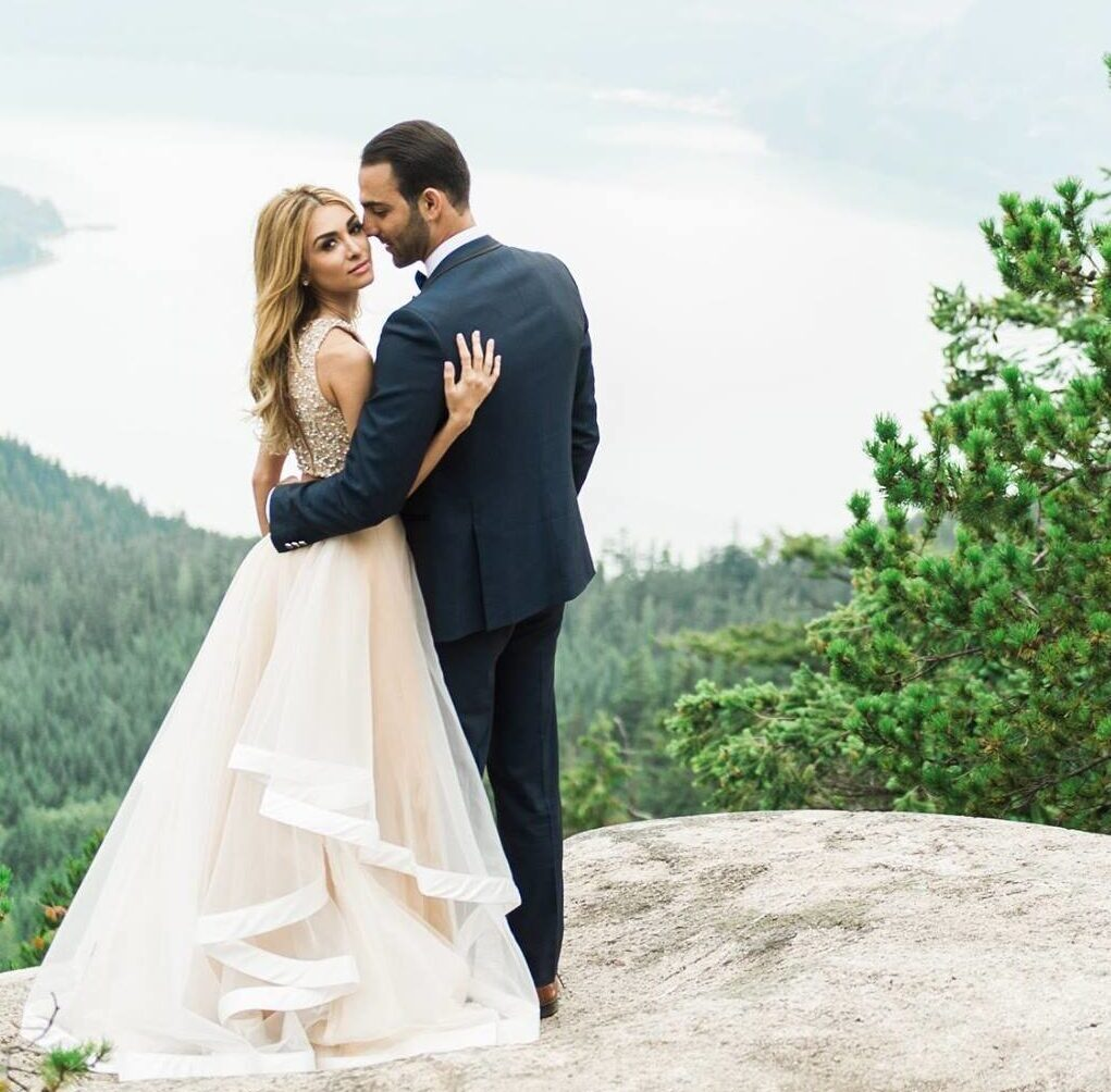 mountain top wedding video by capture productions