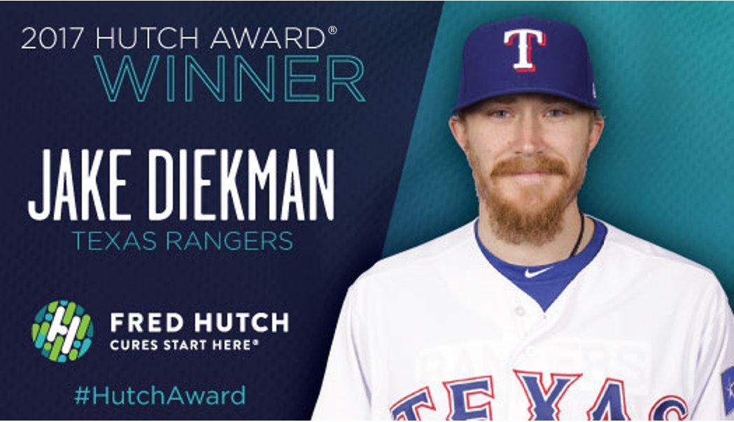 Jake Diekman, Hutch Award