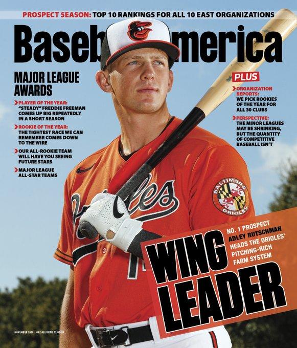 Adley Rutschman Baseball America Cover