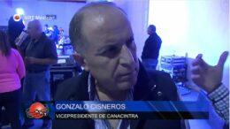 Gonzalo Cisneros Vicepresidente de Canacintra