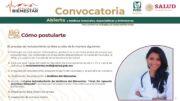 Convocatoria para el programa Médicos del Bienestar