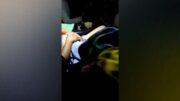Policías ayudan a parto