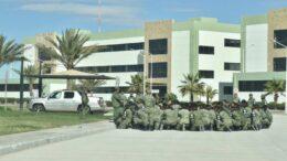 Militares se contagian del Covid-19