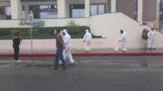 Sanitizan centro de Monclova