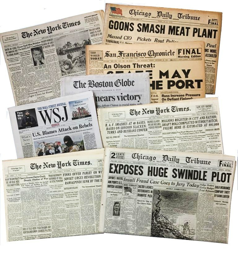 The Decline and Fall of Mainstream Media: Years of bias; investigating the investigators.