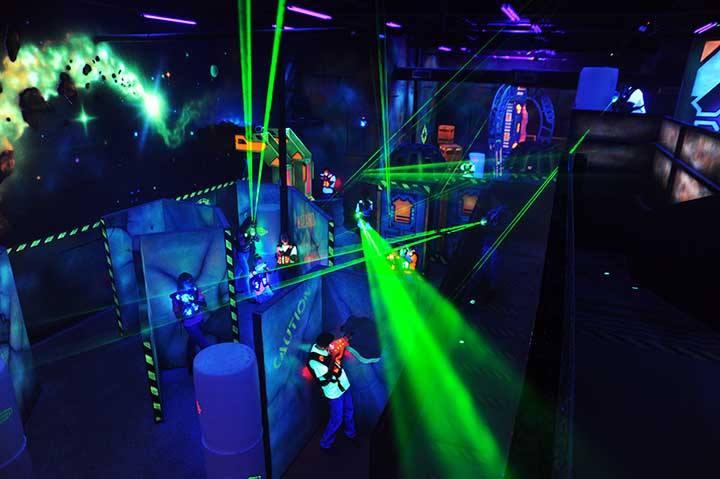 gang-laser tag