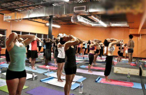 entraînement-yoga chaud
