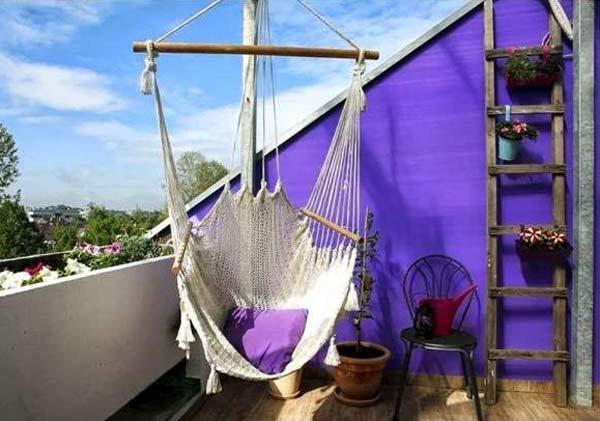balcon hamac