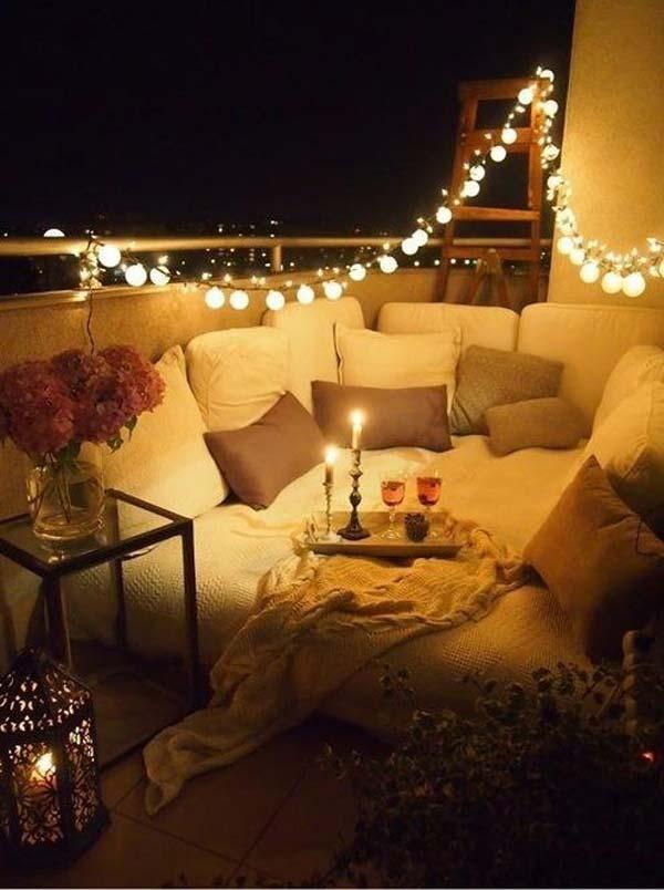 balcon romantique