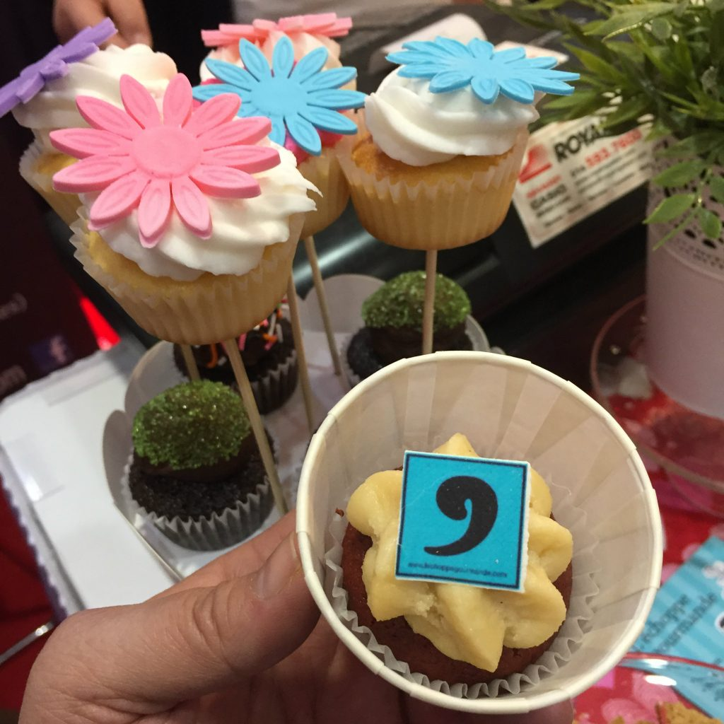 Cupcake de l'Échoppe gourmande