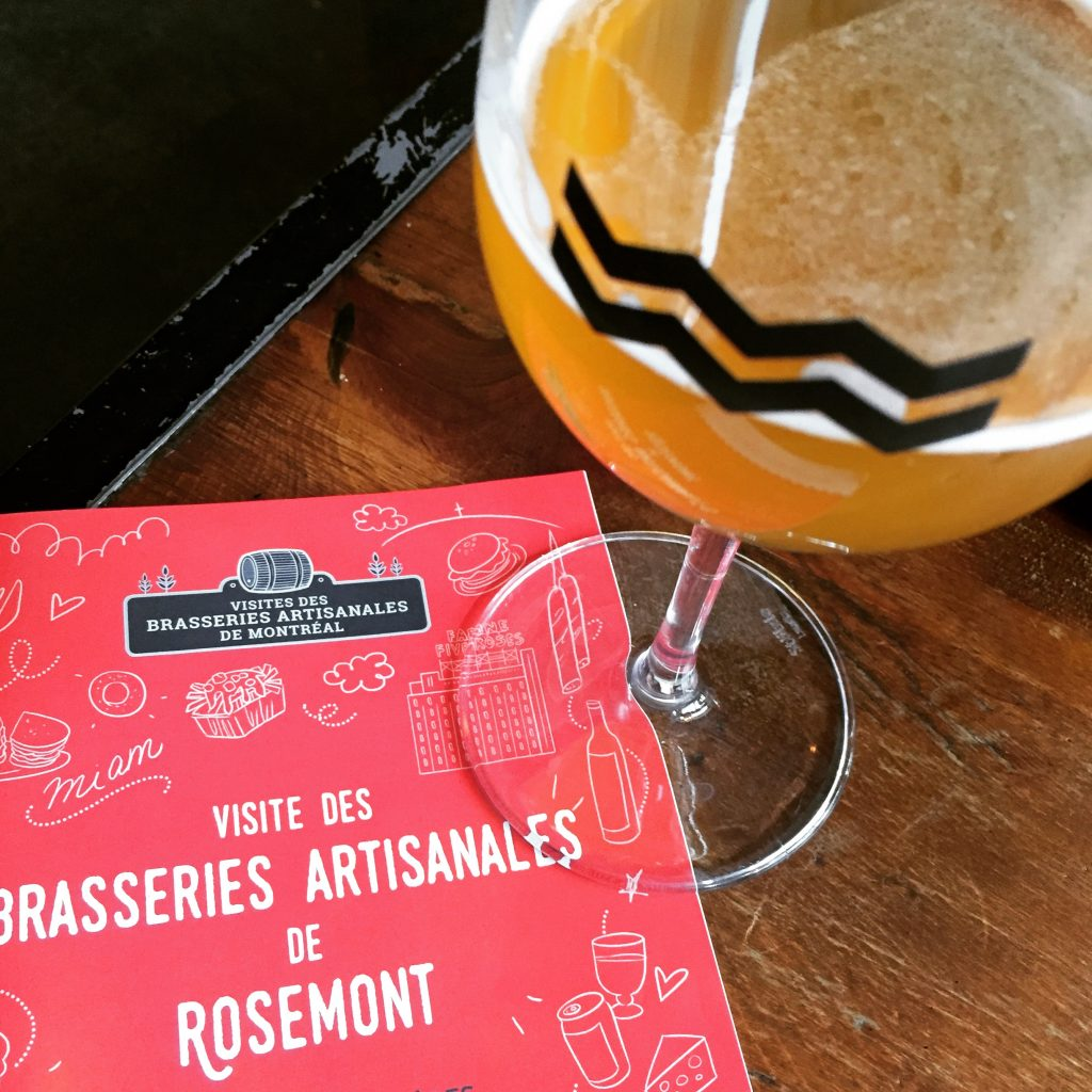 Visite des brasseries artisanales de Rosemont Isle de Garde