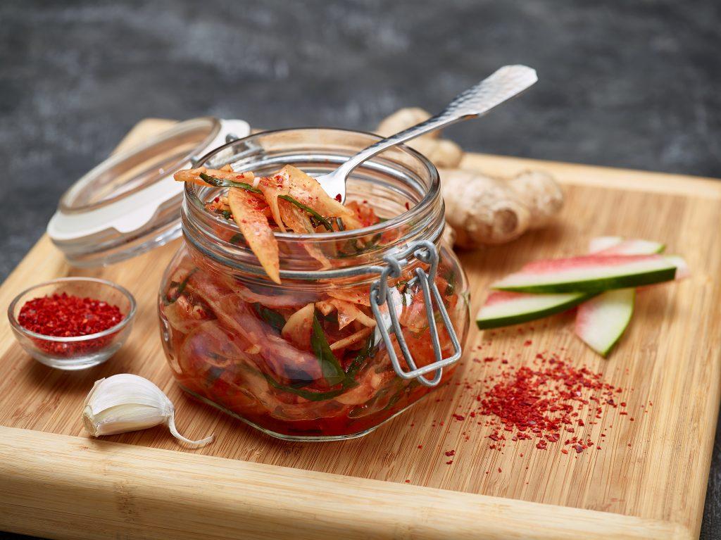 melon kimchi