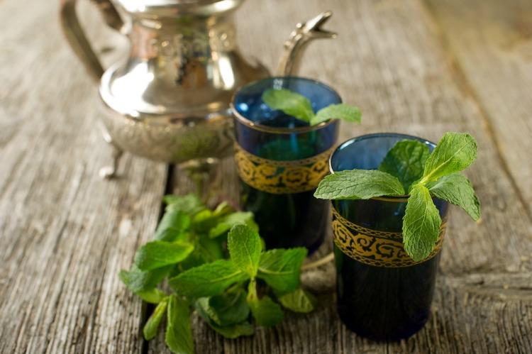 rituels beaute marocaine - the menthe