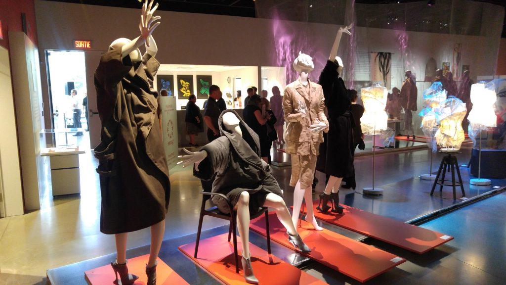 exposition Jean-Claude Poitras, mannequins