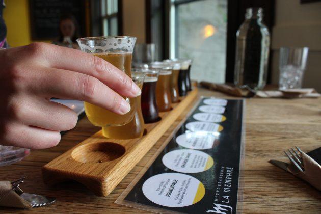 dégustation de bières, microbrasserie