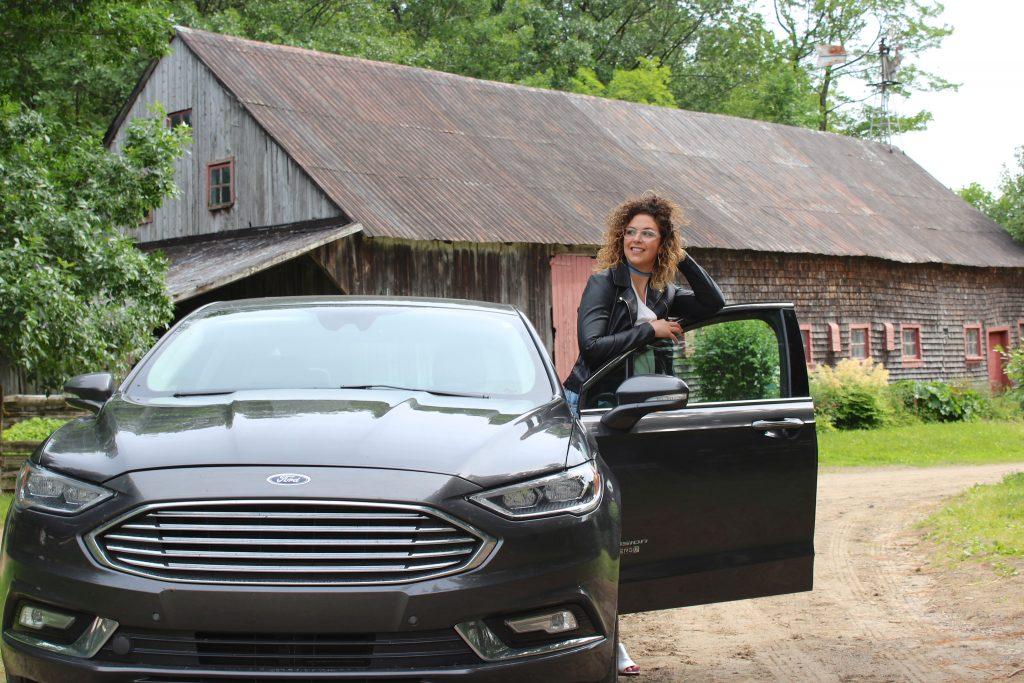 road trip Ford, fusion energi
