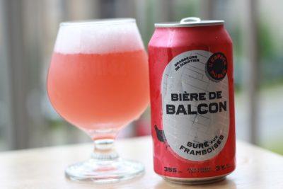 bière balcon