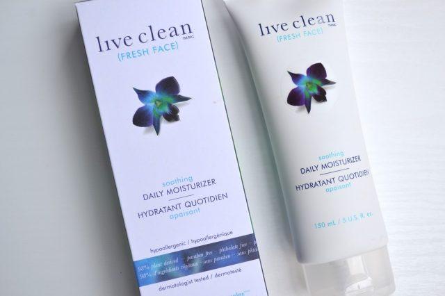 beauté, crème visage live clean
