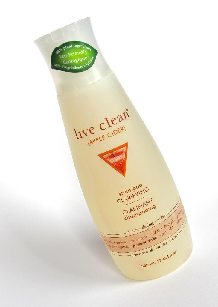 beauté, shampoing live clean