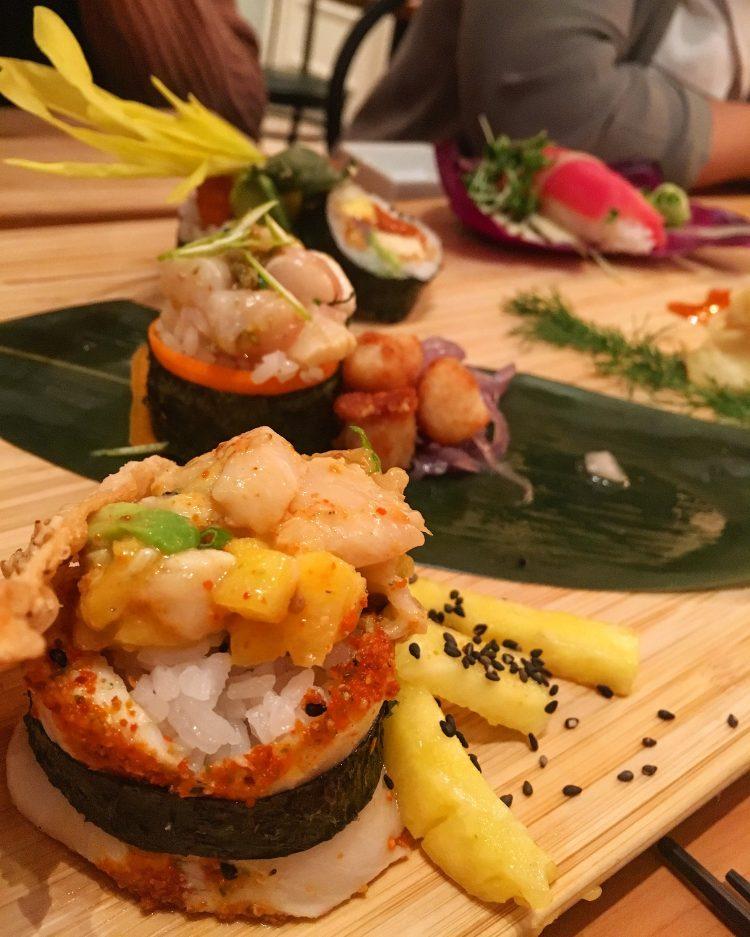 Semaine Manger Cru - Nicky Sushi