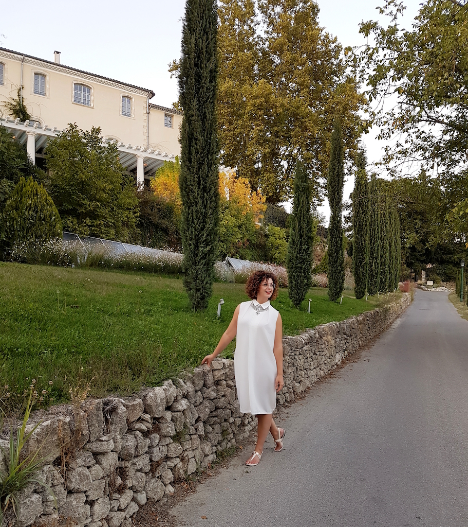 look Provence-robe blanche