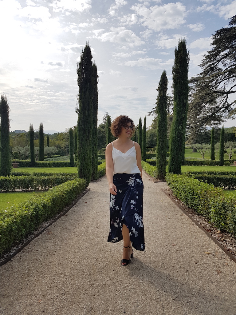 look Provence-jupe fleurie