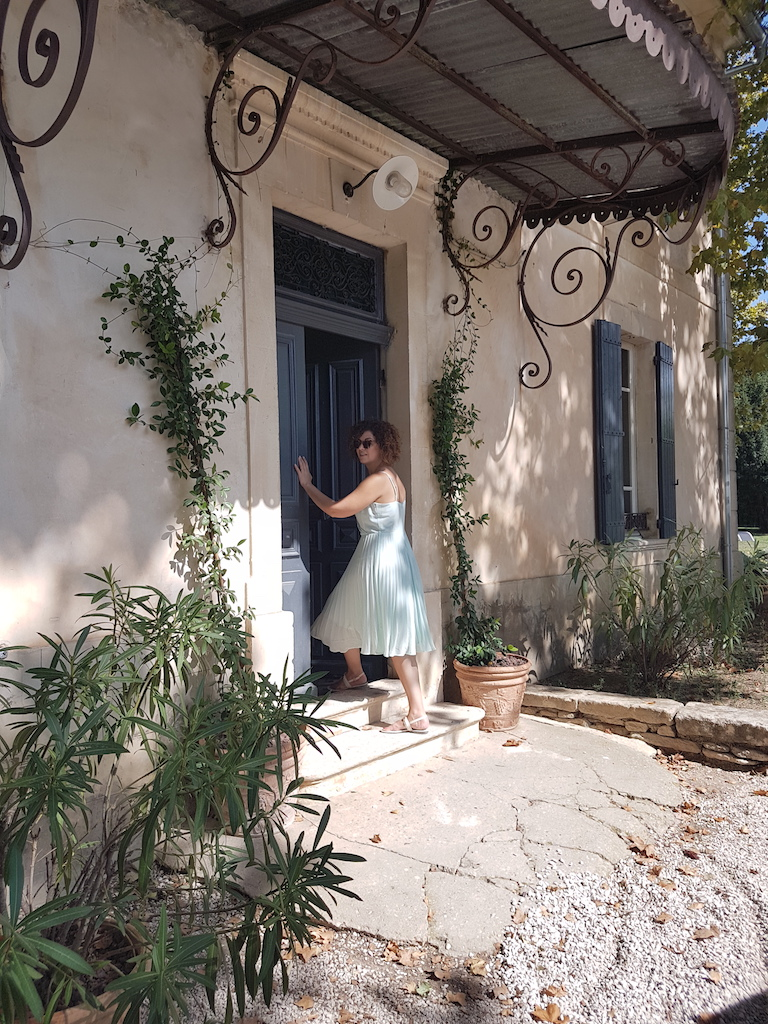 look Provence-robe menthe