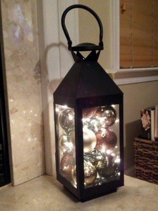 DIY extérieur avec lanternes