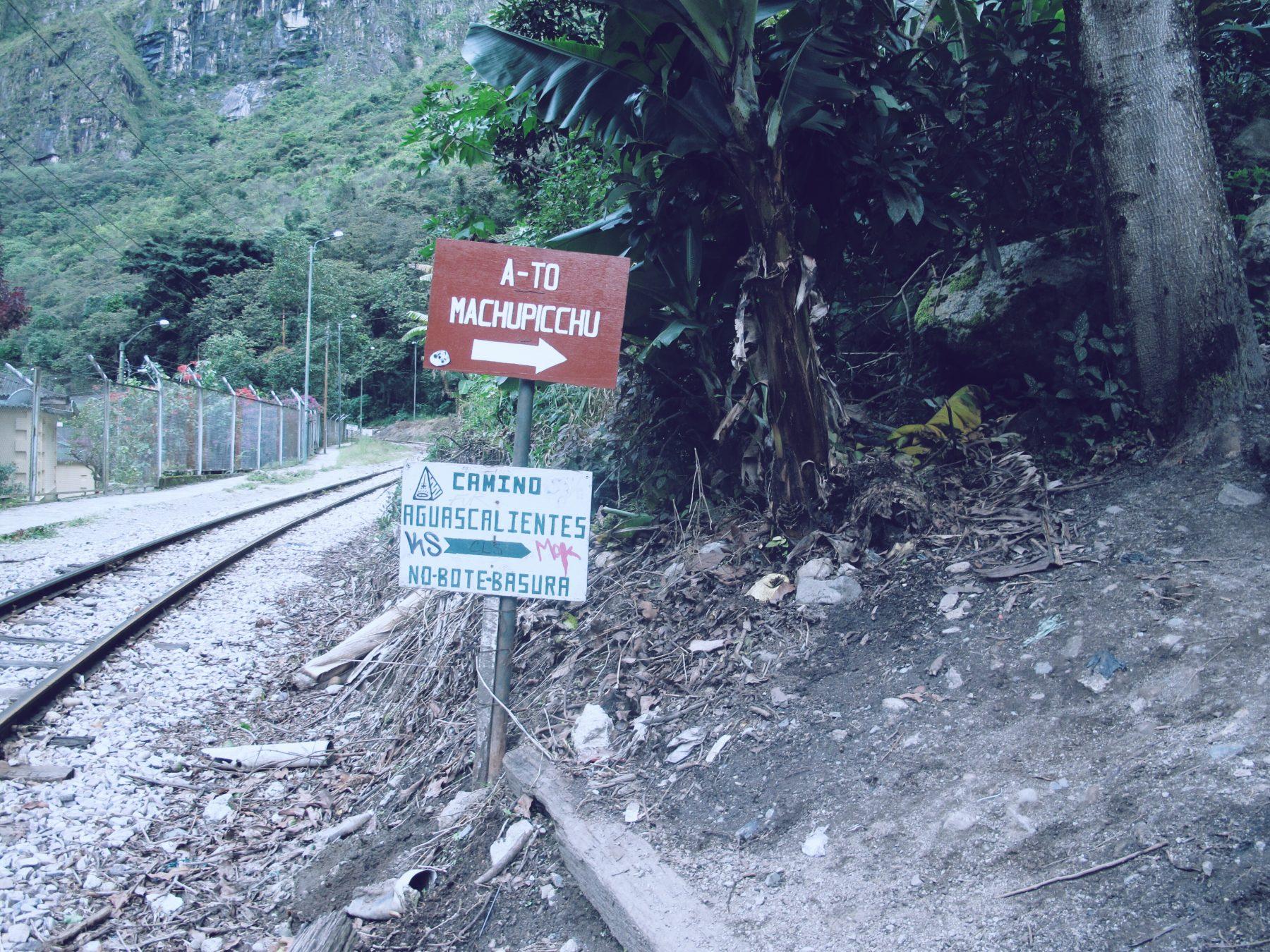 Sur la route en direction du Machu Picchu