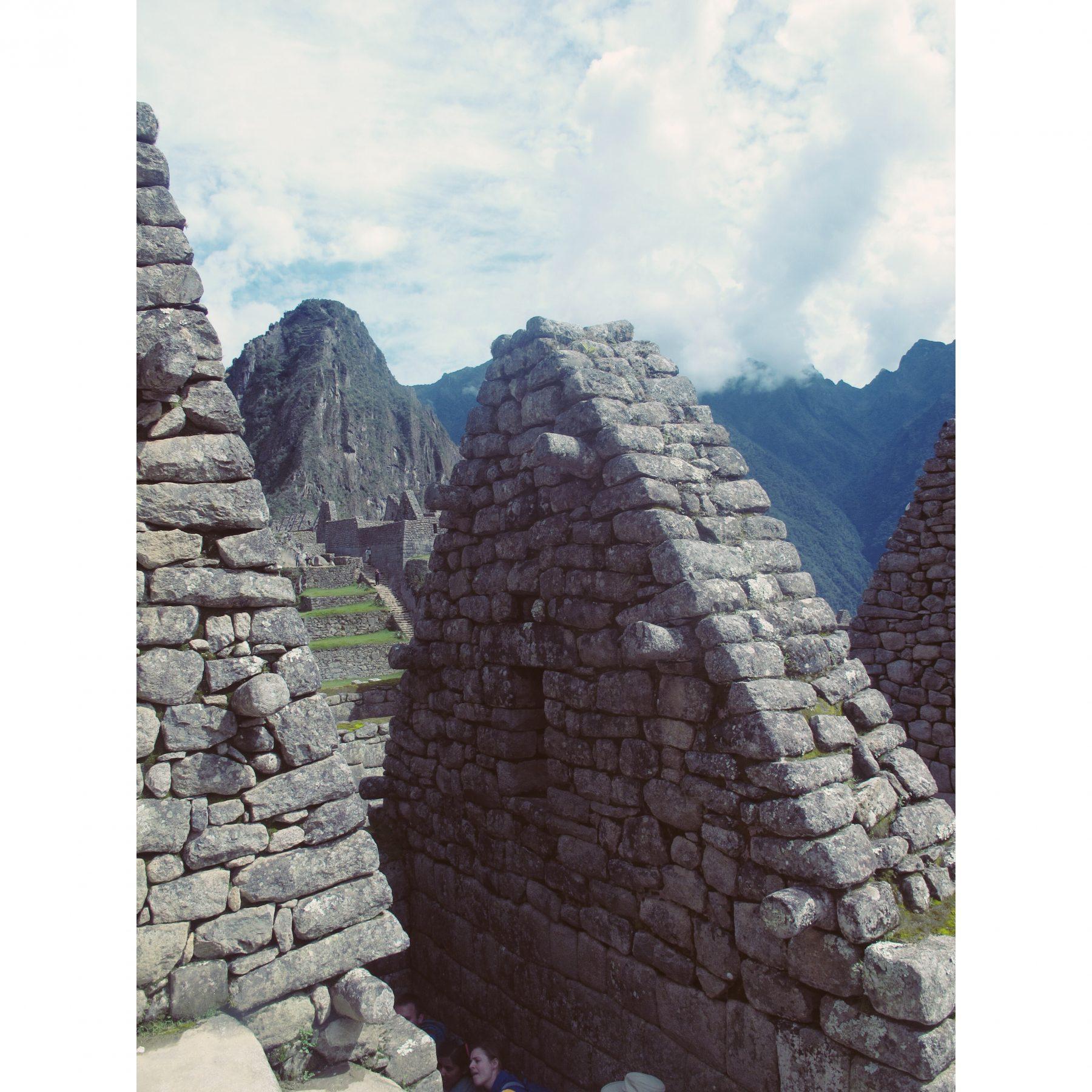 Les ruines de la cité du Machu Picchu
