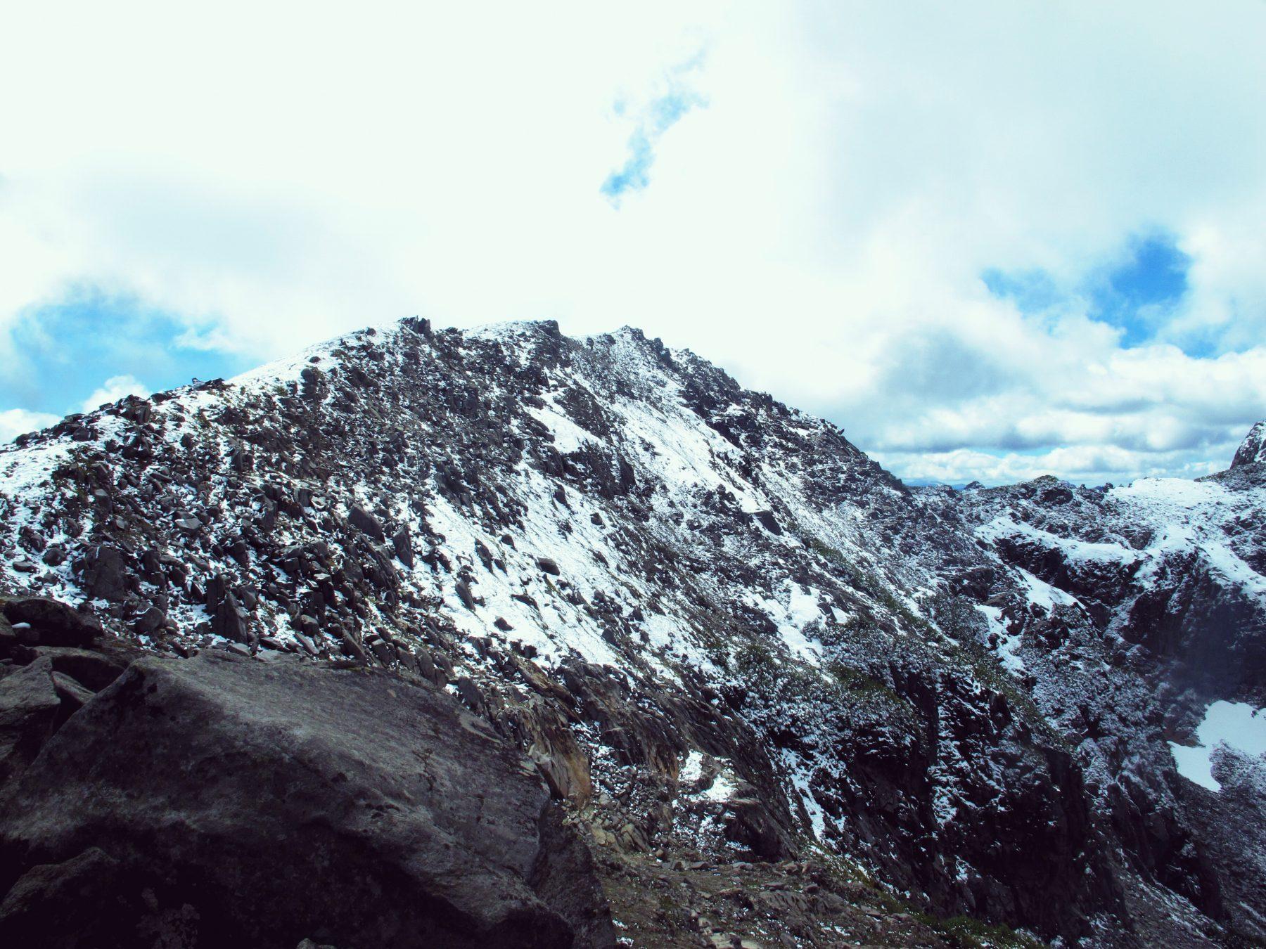 vue sur le Cerro San Sebastian