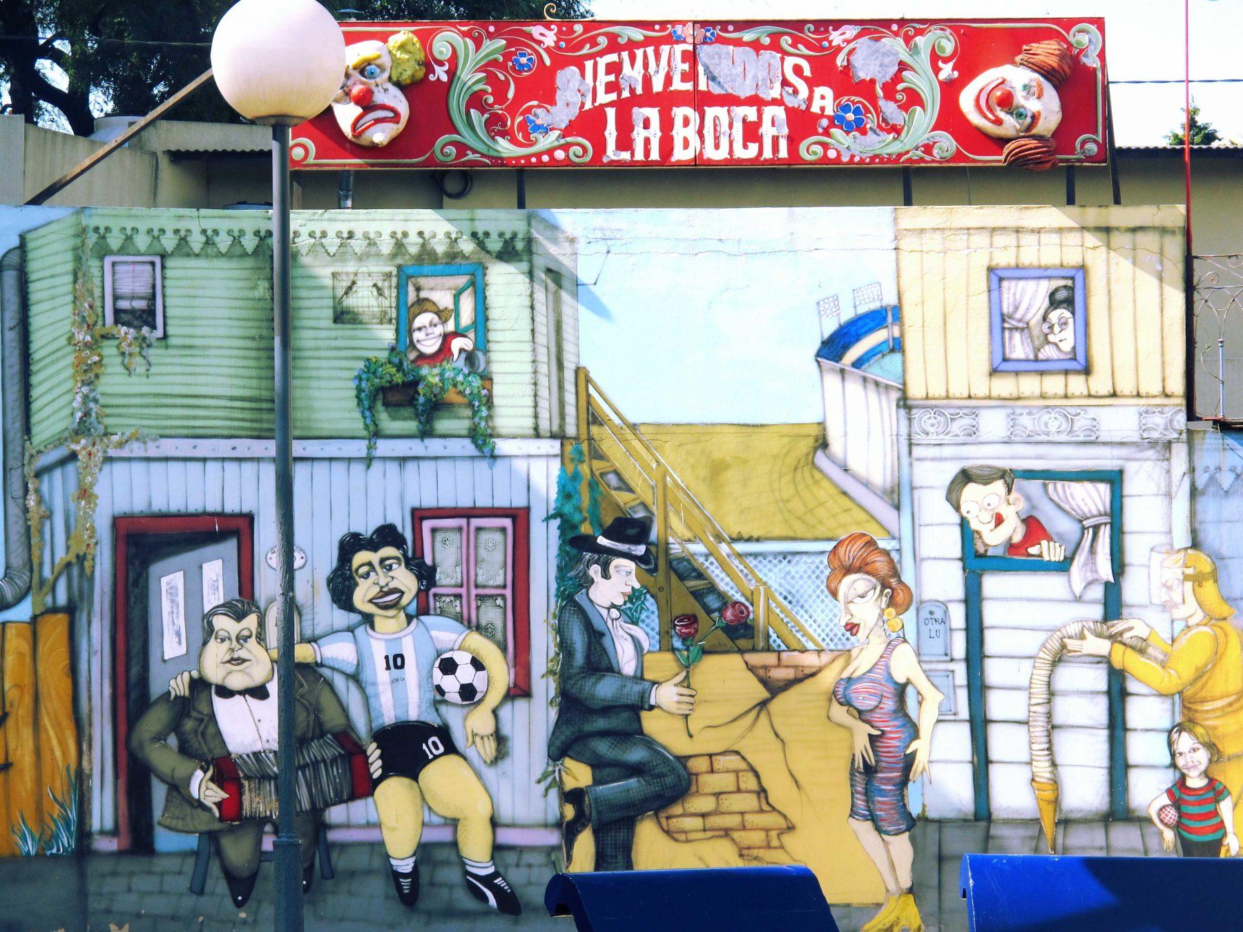 quartier La Boca à Buenos Aires