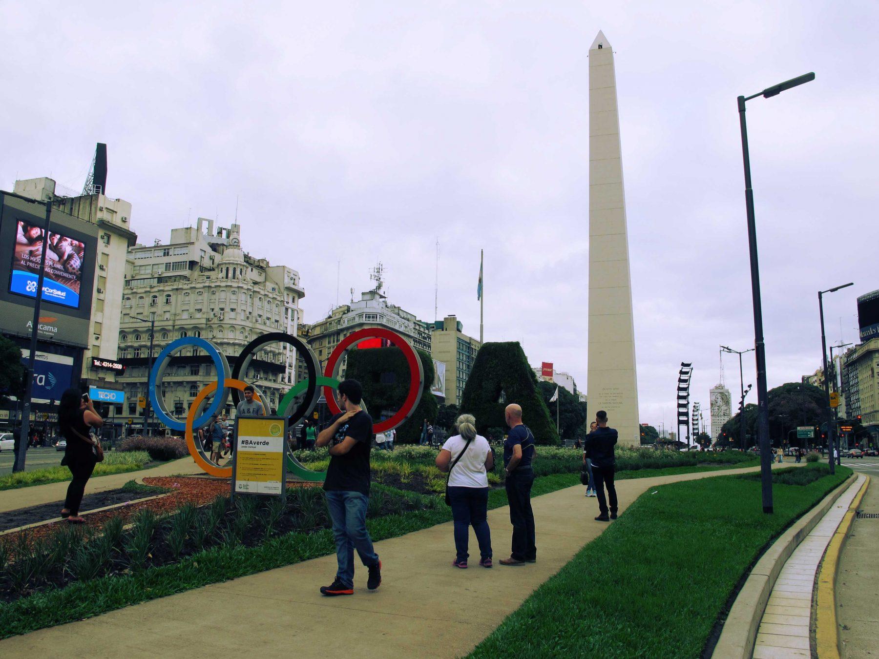 Place de la République à Buenos Aires