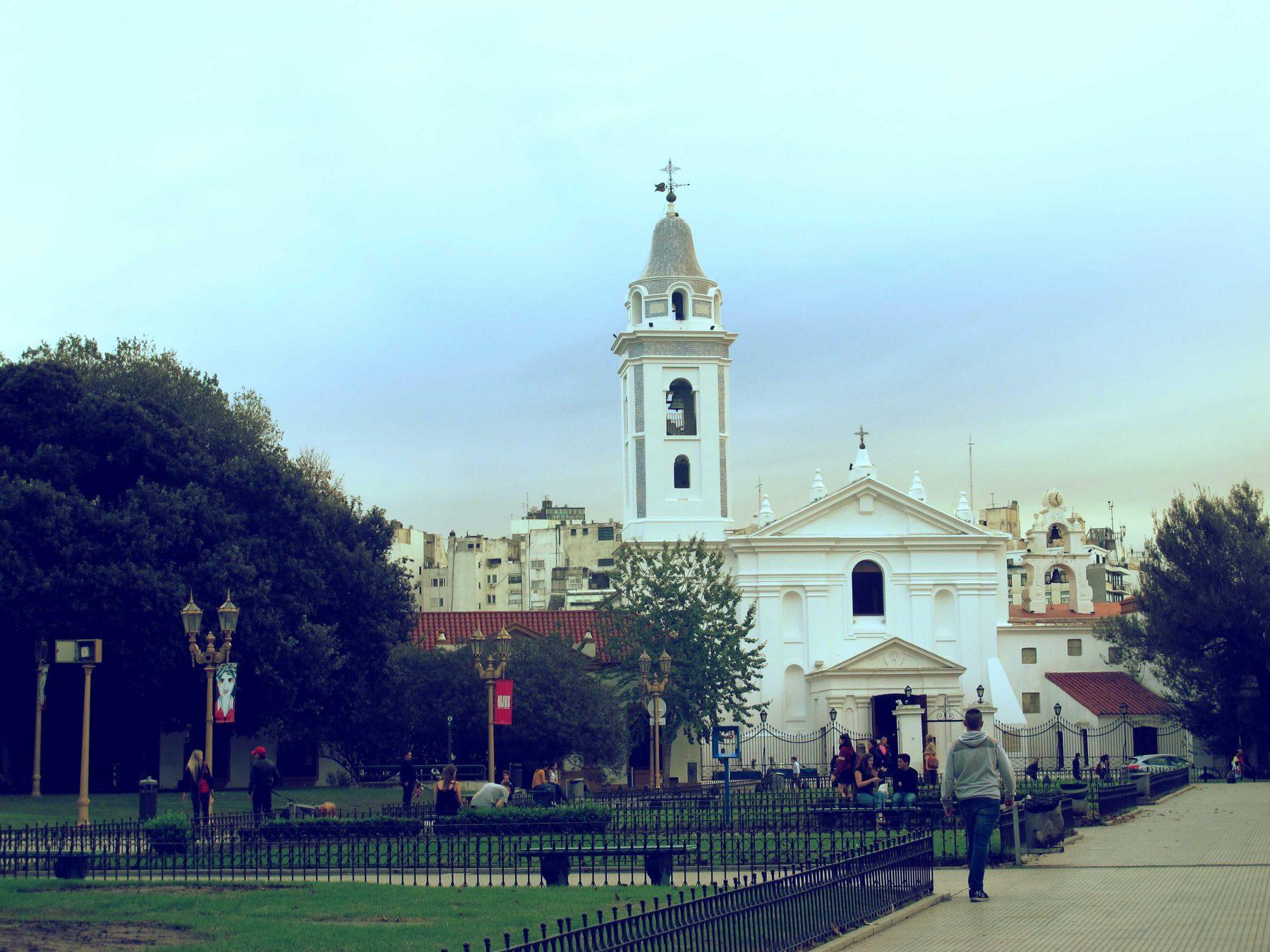 Basilique Notre-Dame-du-Pilier à Buenos Aires