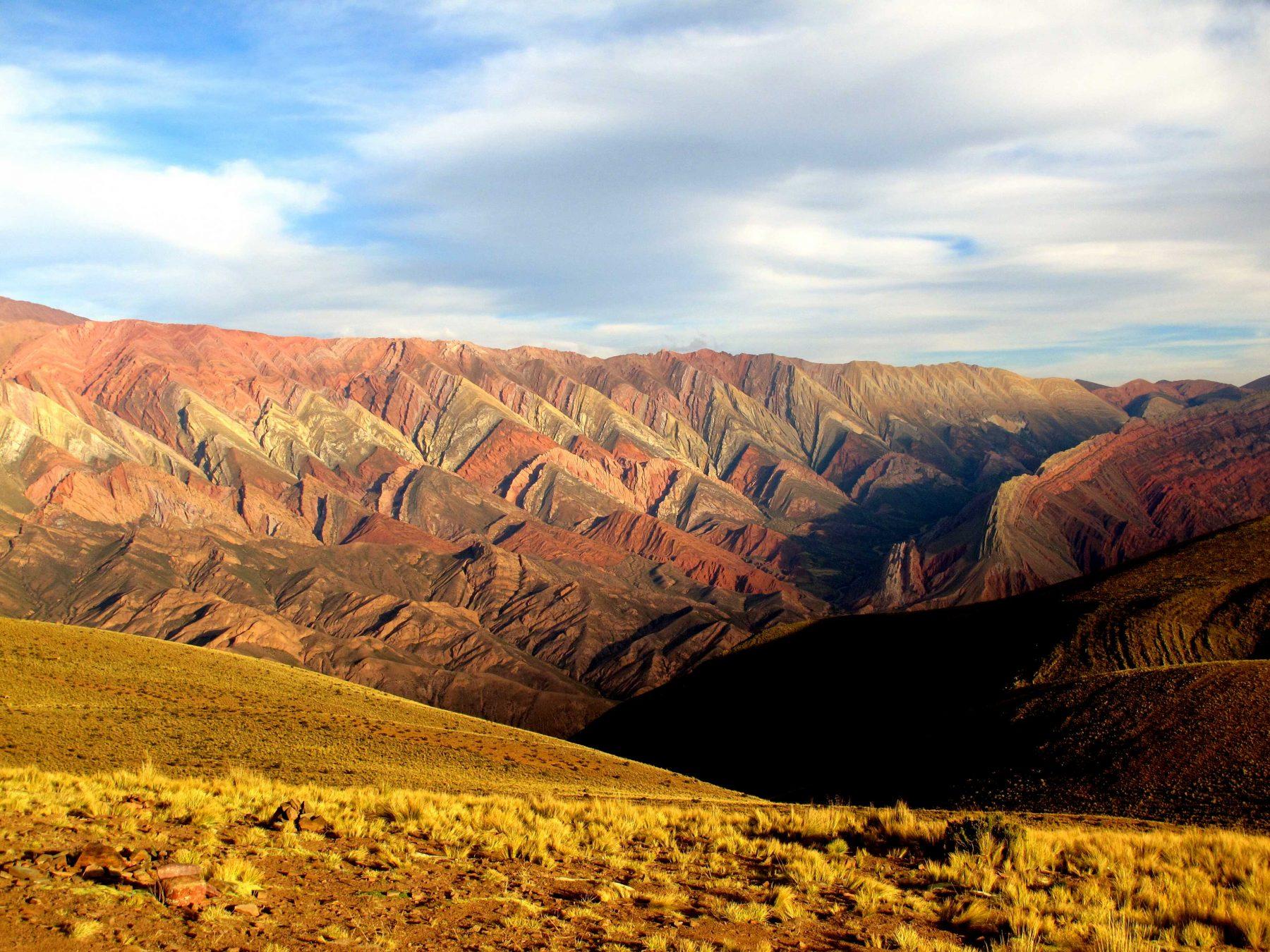 L'Hornocal de Humahuaca, nord de l'Argentine