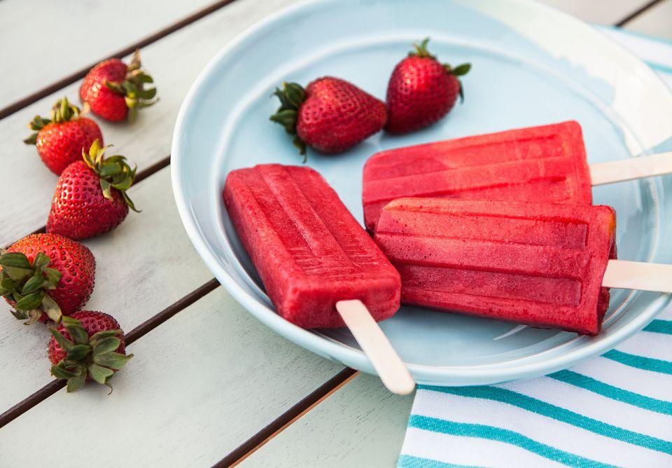 poptails fraises