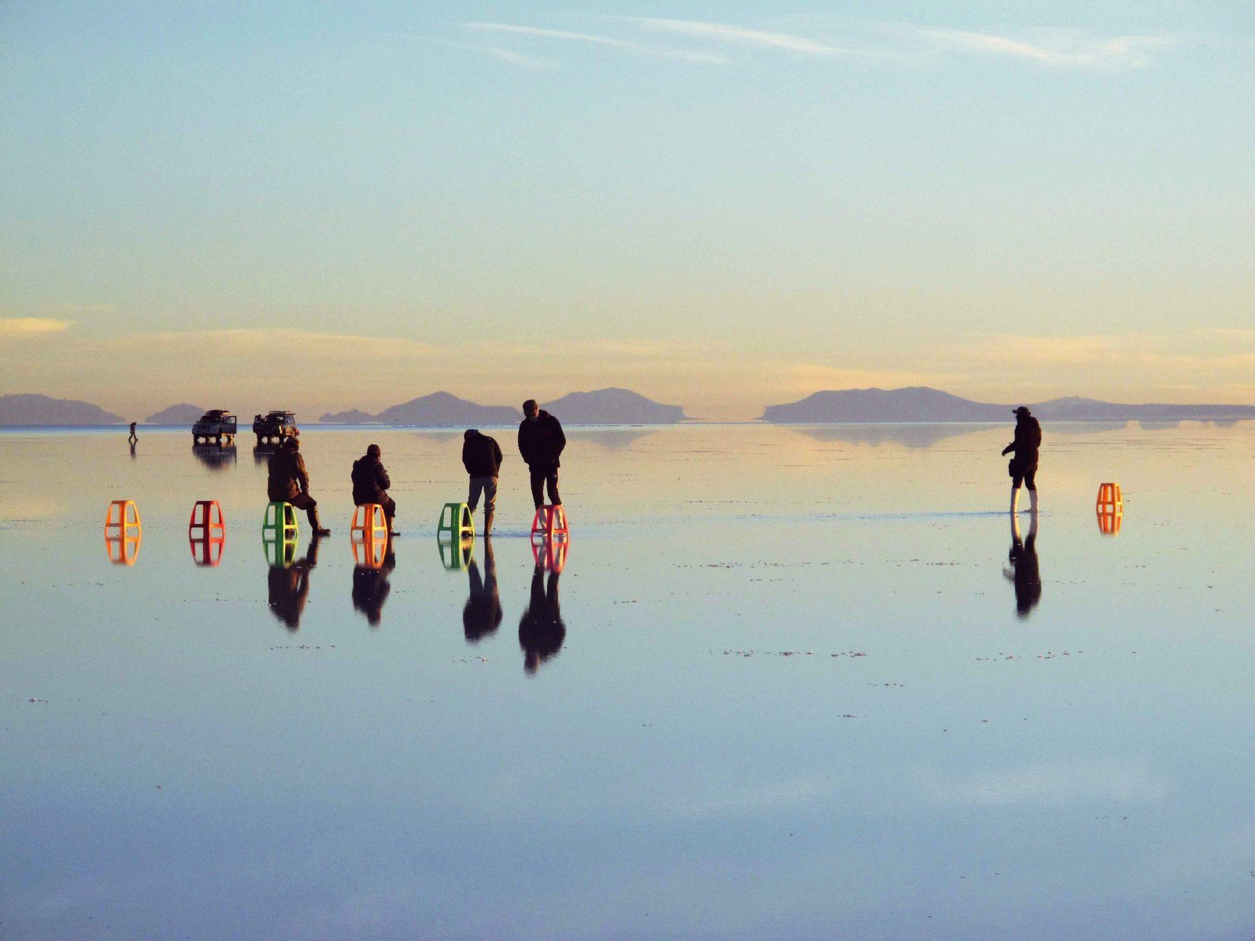 le désert d'Uyuni, Bolivie