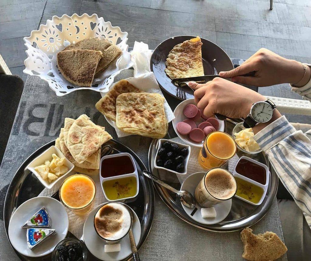dejeuner maroc