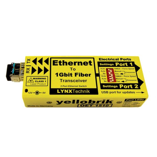 OET 1510 yellobrik Ethernet Transceiver