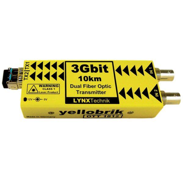 OTT 1812 yellobrik Dual SDI Fiber Transmitter