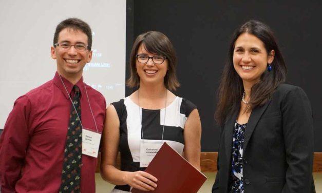 2016 Prix de l'ACSP dans le cadre de la compétition « Ma thèse en trois minutes à l'intention des étudiants diplômés »