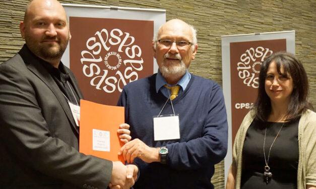 2016 Prix de l'ACSP pour une présentation visuelle