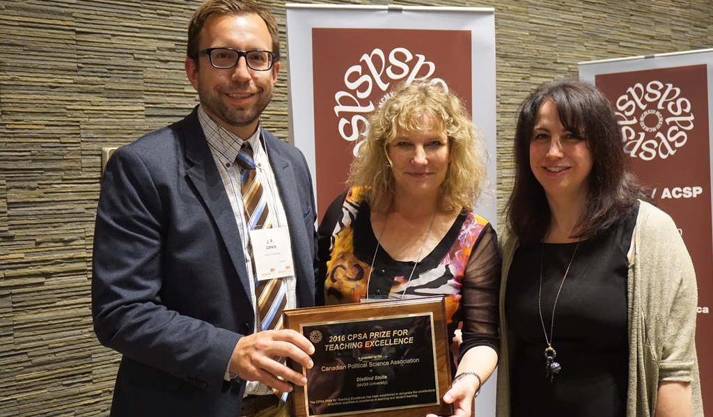 2016 CPSA Prize for Teaching Excellence