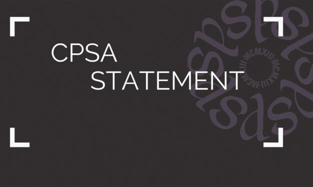 CPSA Anti-Racism Statement