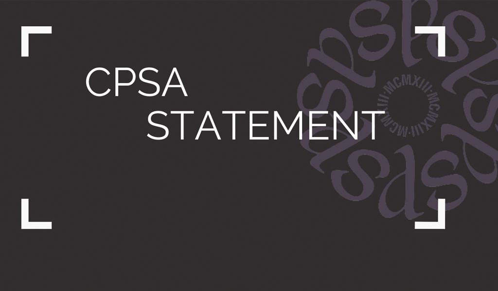 CPSA Anti-Racism Statement