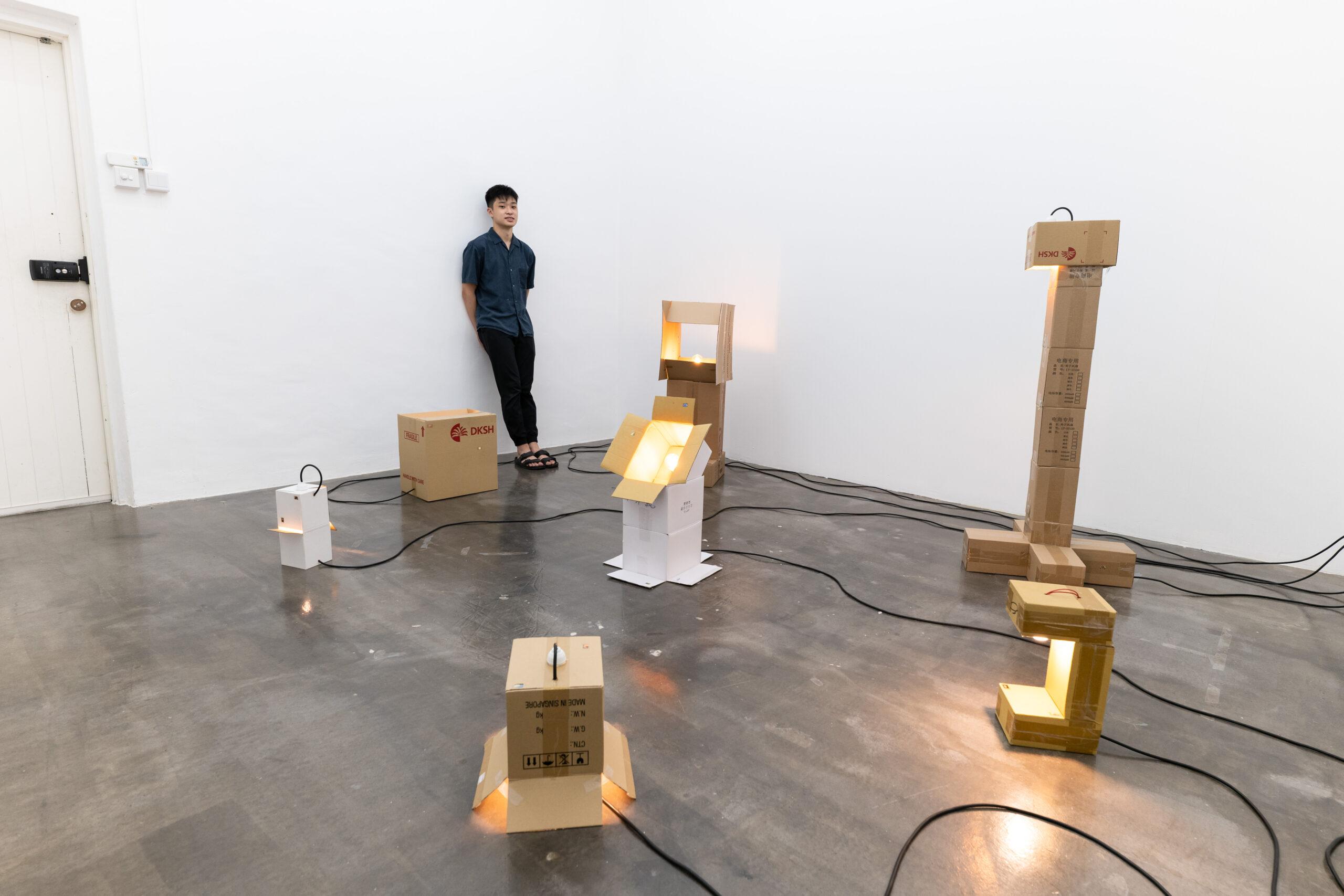 Cardboard Lamps & Adequate Images_03