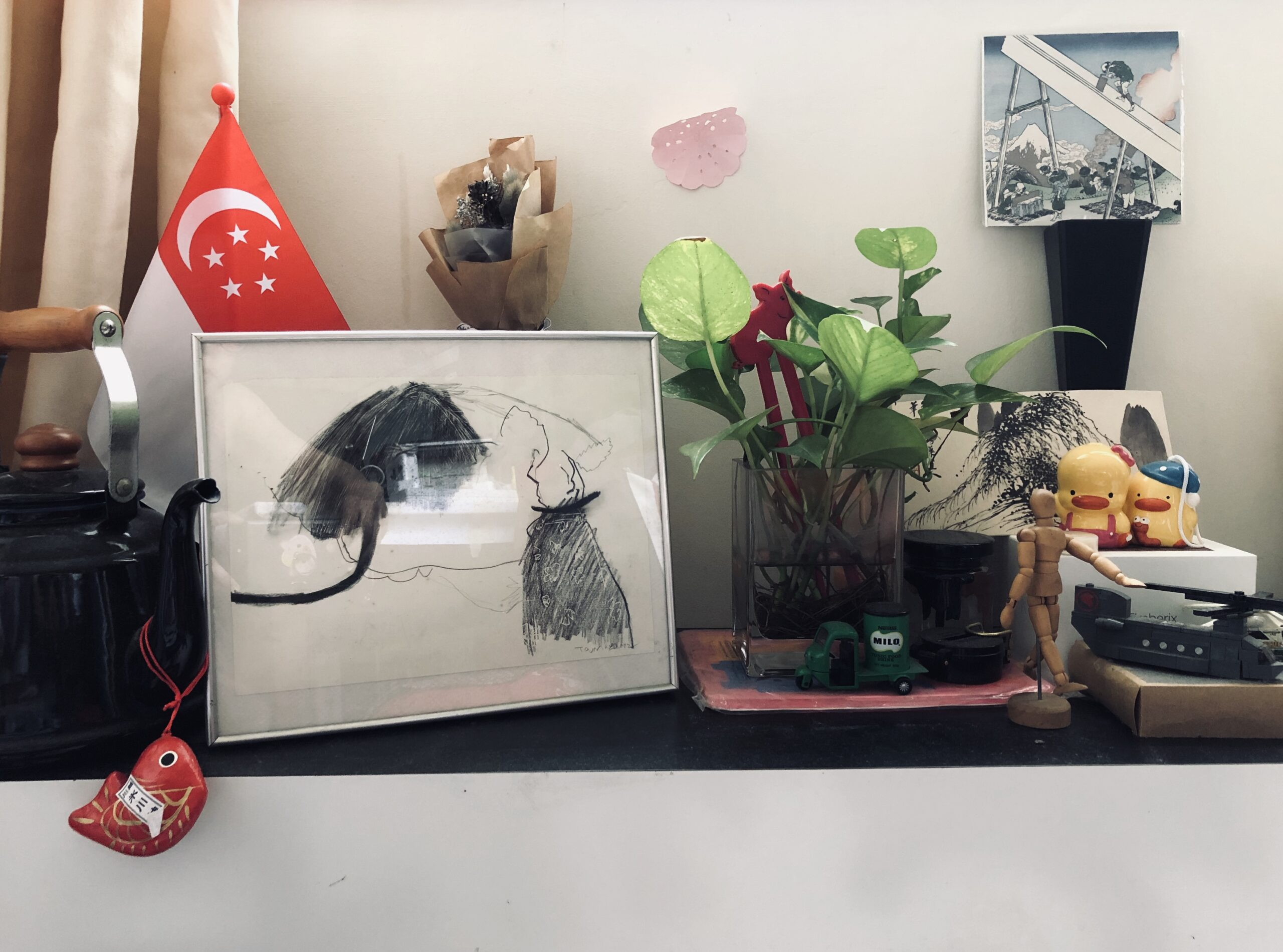 Tang Ling Nah / Artwork Artist Tamares Goh