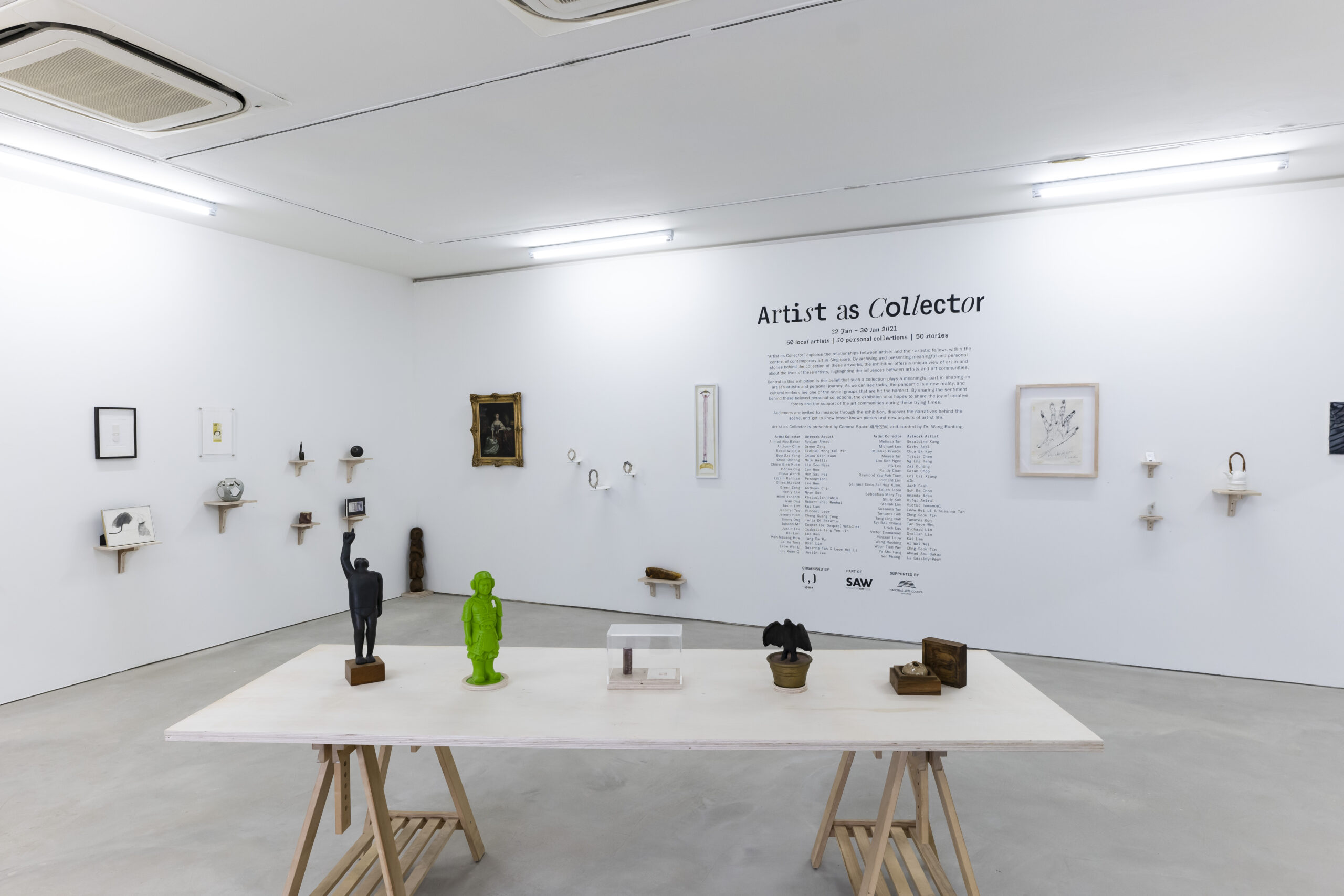 Artist as Collector_exhibition view 02