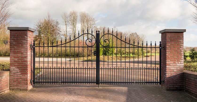 wrought-iorn-gate